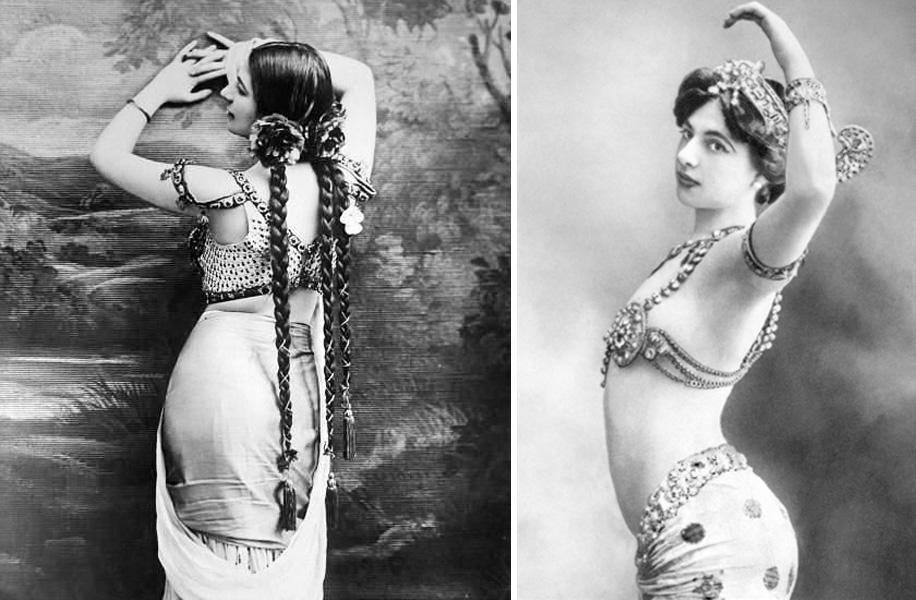 mata-hari-mujeres iconicas-vintage by lopez linares